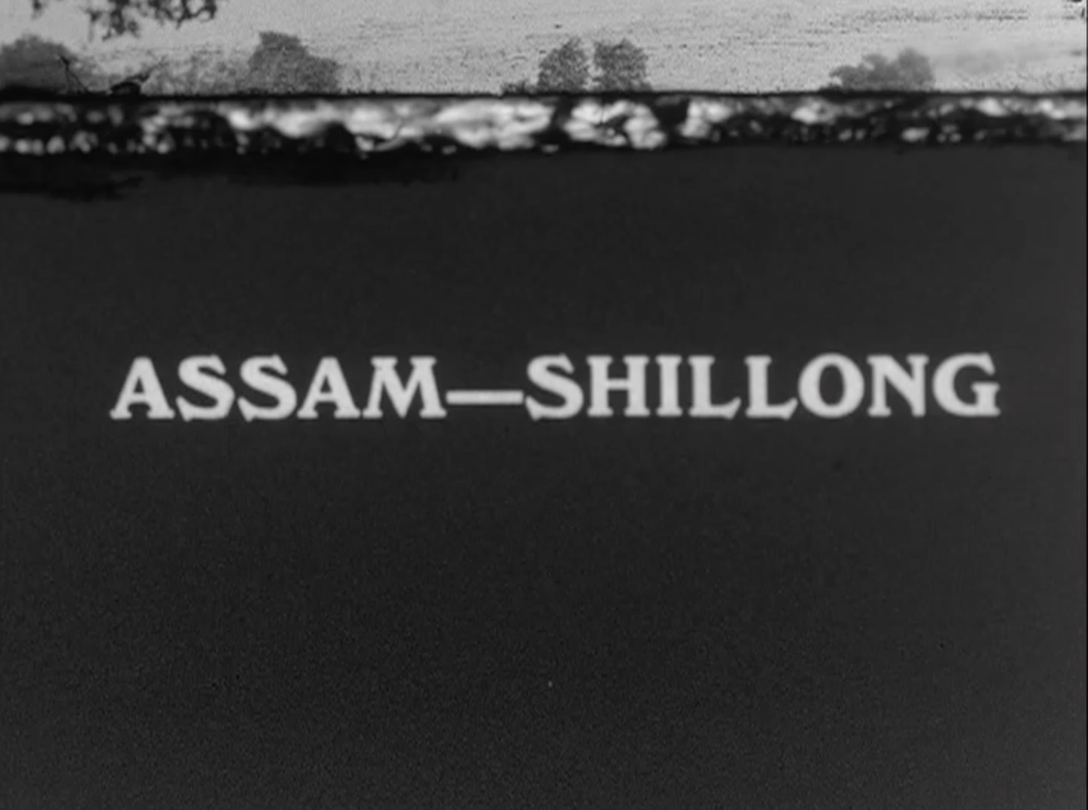 1936 film on Shillong