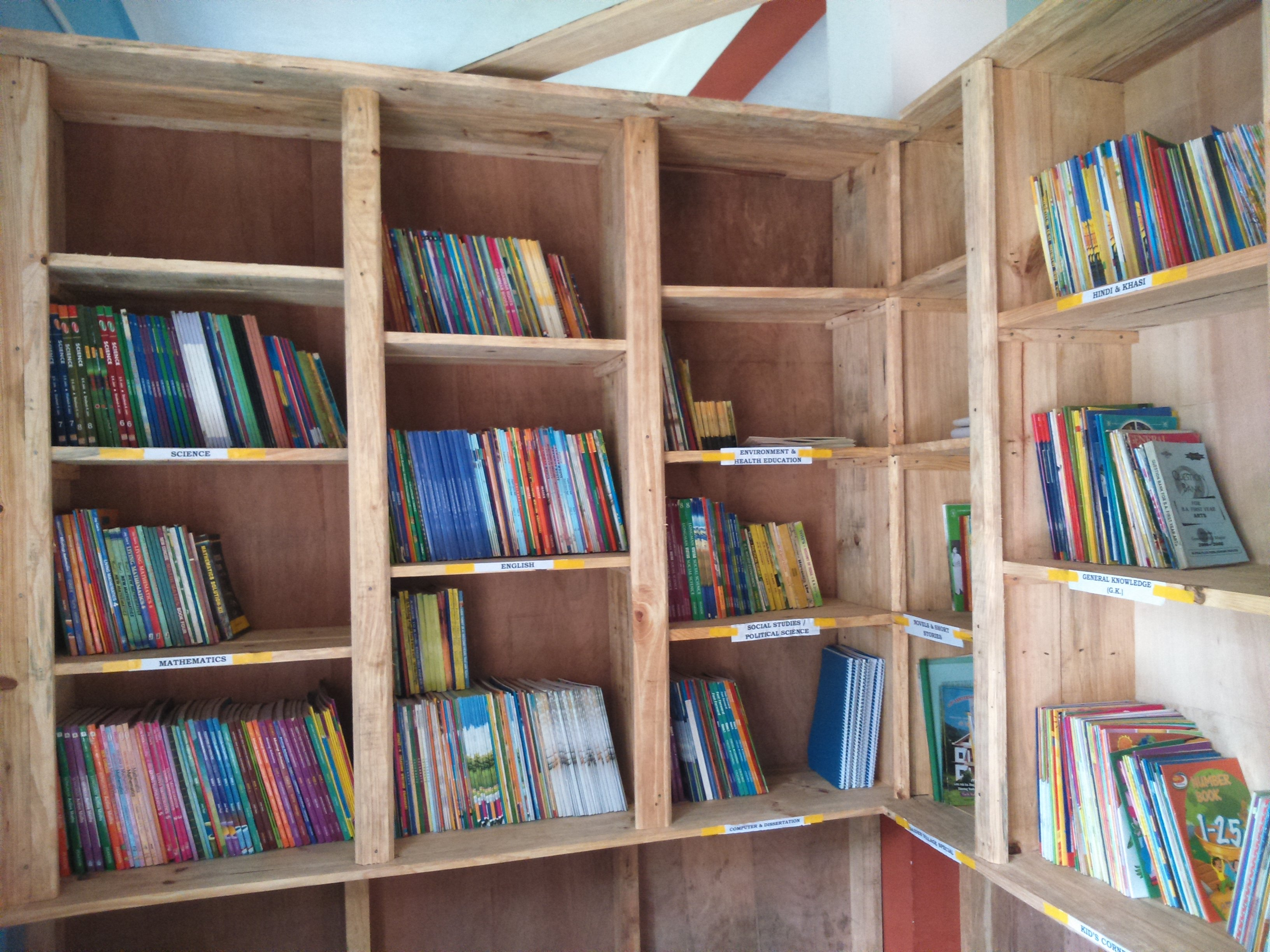 Library at Saiden
