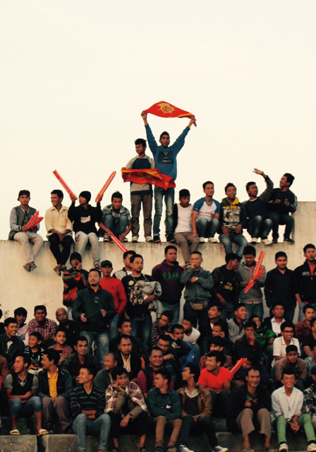 Royal Wahingdoh FC fans (Photo:Melam Rangad)