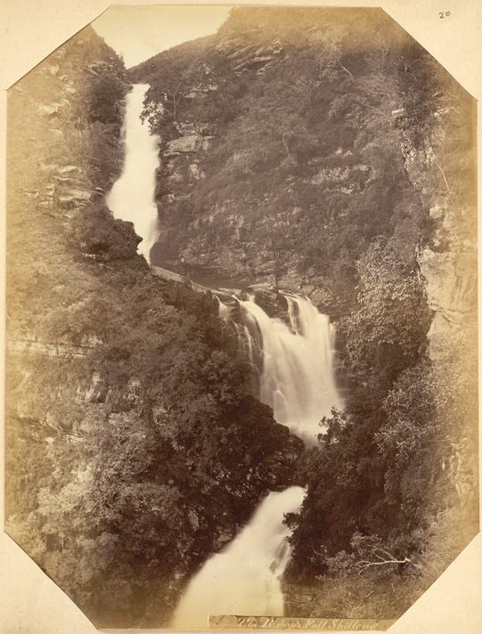 """The Bishop's Fall, Shillong. Kassia Hills"" 
